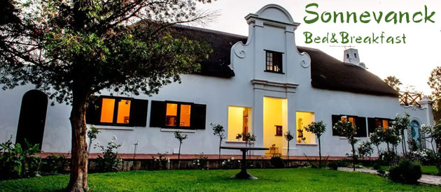 SONNEVANCK B&B, WORCESTER